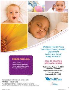 Glynn County Baby Shower Flyer 8 24 16 1000
